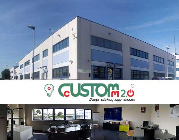 La nuova sede operativa di CustoM 2.0