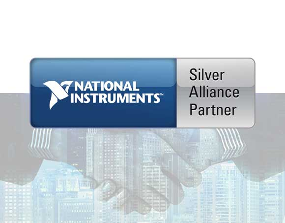 CustoM 2.0 è Silver Alliance Partner di National Instruments