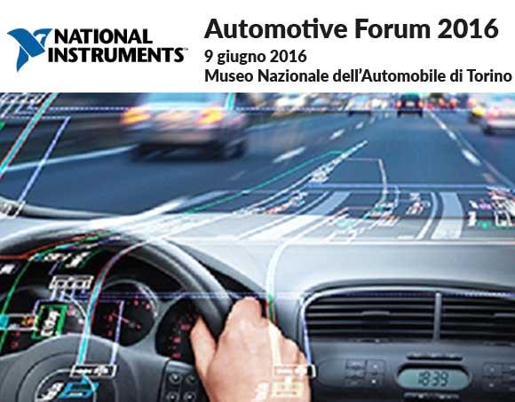 NI Automotive Forum 2016