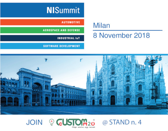 Ni Summit 2018 e CustoM 2.0