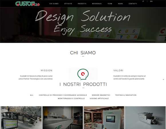 Nuovo sito custom 2.0