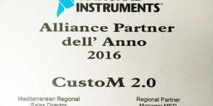 National Instrument allianz partner CustoM 2.0