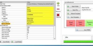 Gestione Big Analog Data per sale prova